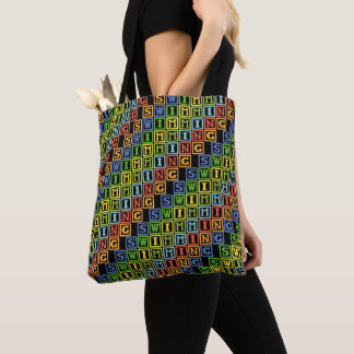 Tote Bag Sport multicolore de natation