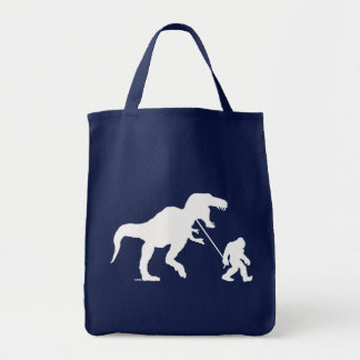 Tote Bag Squatchin allé avec T-rex