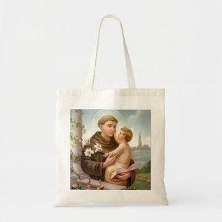Tote Bag St Anthony de bébé Jésus de Padoue