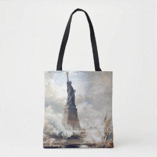 Tote Bag Statue de la liberté dévoilant 1886