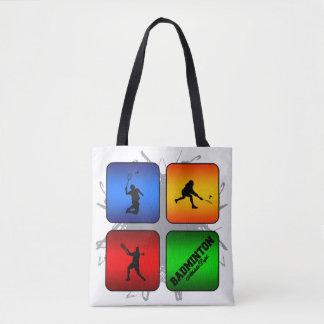 Tote Bag Style urbain de badminton extraordinaire