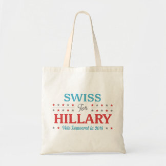 Tote Bag Suisse pour Hillary