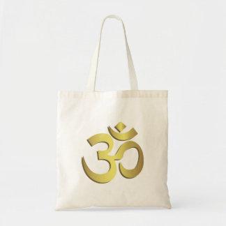 Tote Bag Symbole de yoga de l'OM (Aum) Namaste
