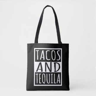 Tote Bag Tacos et tequila