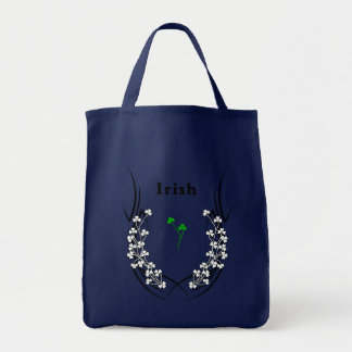 Tote Bag Tatouage irlandais de shamrock