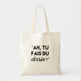 Tote Bag #teamdessin