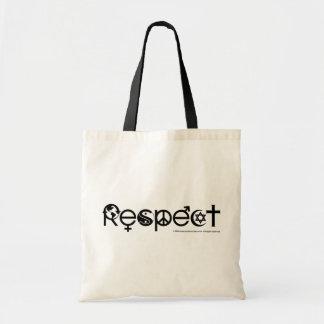 Tote Bag Terre de respect - réutilisez les économies la