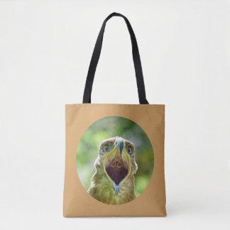 Tote Bag Tête 0012 d'Eagle de steppe 06, criant