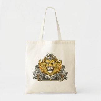 Tote Bag tête de lion