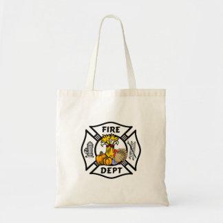 Tote Bag Thanksgiving de sapeur-pompier