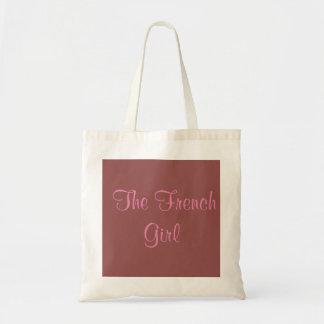 Tote Bag The French Girl-Tote Bag