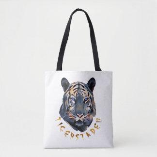 Tote Bag Tigre bleu