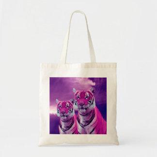 Tote Bag Tigres pourpres