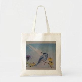 Tote Bag Toile Fourre-tout d'oiseau