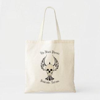 Tote Bag Toile noire Fourre-tout de Phoenix