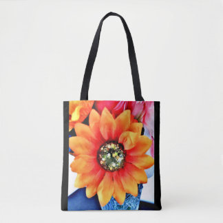 Tote Bag Tournesol de parties scintillantes