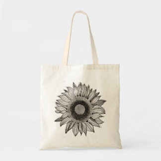 Tote Bag Tournesol Fourre-tout