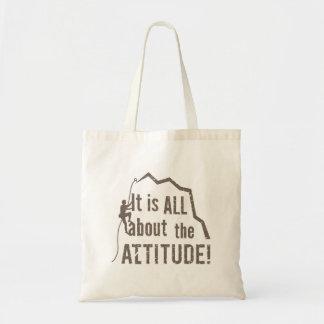 Tote Bag Tout au sujet de la roche d'altitude d'attitude