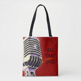 Tote Bag Tout ce jazz - Chicago - Fourre-tout Bage