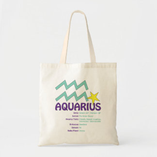 Tote Bag Traits Fourre-tout de Verseau