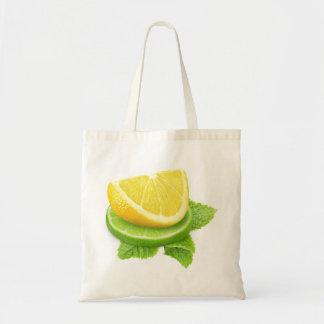Tote Bag Tranches de citron et de chaux