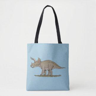 Tote Bag Triceratops