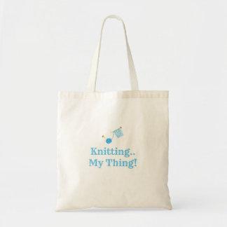Tote Bag Tricotage. Ma chose !