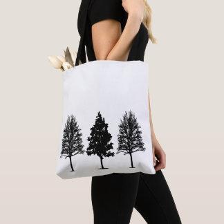 Tote Bag Trois arbre Fourre-tout
