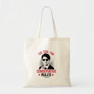 Tote Bag Trudeau - trop cool pour des règles conservatrices