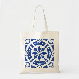 Tote Bag Tuile portugaise originale peinte à la main