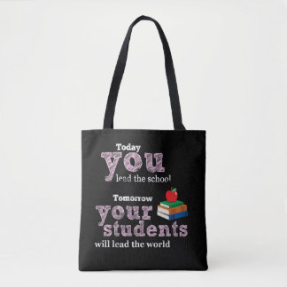 Tote Bag Typographie de citation de professeur