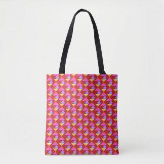 Tote Bag Un contraste des formes et des nuances
