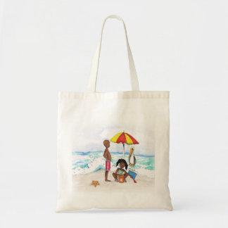 Tote Bag Un jour à la plage