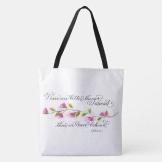 Tote Bag Une meilleure typographie inspirée de citation de