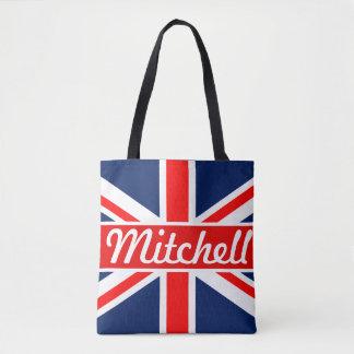 Tote Bag Union Jack personnalisé
