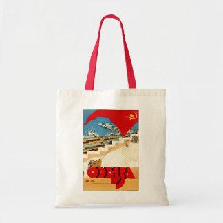 Tote Bag Union Soviétique vintage d'Odessa Ukraine de