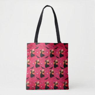 Tote Bag Vampire de licorne