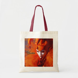 Tote Bag Venise, Italie (IT) - costume orange de carnaval