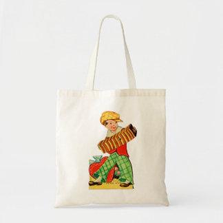 Tote Bag Vieil accordéon vintage de Valentine Little Boy