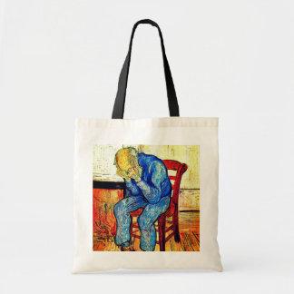 Tote Bag Vieil homme affligé Van Gogh
