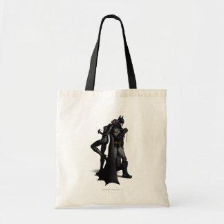Tote Bag Ville | Batman de Batman Arkham et Catwoman