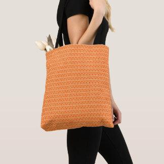Tote Bag Vinatge enchante des Orange-Emballage-Épaule-Sacs