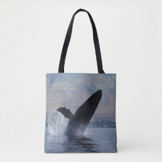 Tote Bag violation de baleine de bosse