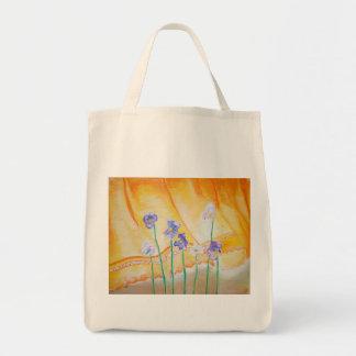 Tote Bag Violettes et un rideau Fourre-tout