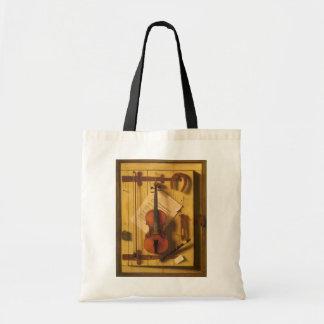 Tote Bag Violon et musique toujours de la vie par William