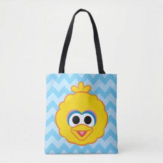 Tote Bag Visage de sourire de grand oiseau