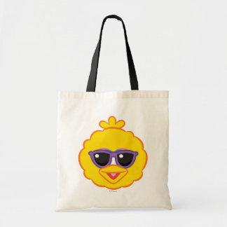 Tote Bag Visage de sourire de grand oiseau avec des