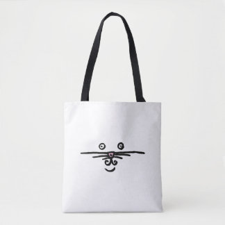 Tote Bag Visage et queue