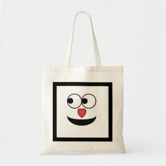 Tote Bag Visage heureux de nez chaleureux