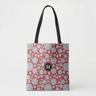 Tote Bag Vous choisissez les cercles de cool et d'amusement